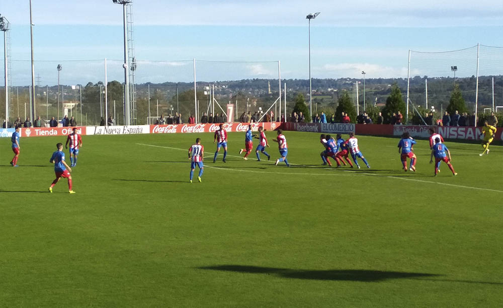Resumen Sporting B (2 – 3) CD Calahorra