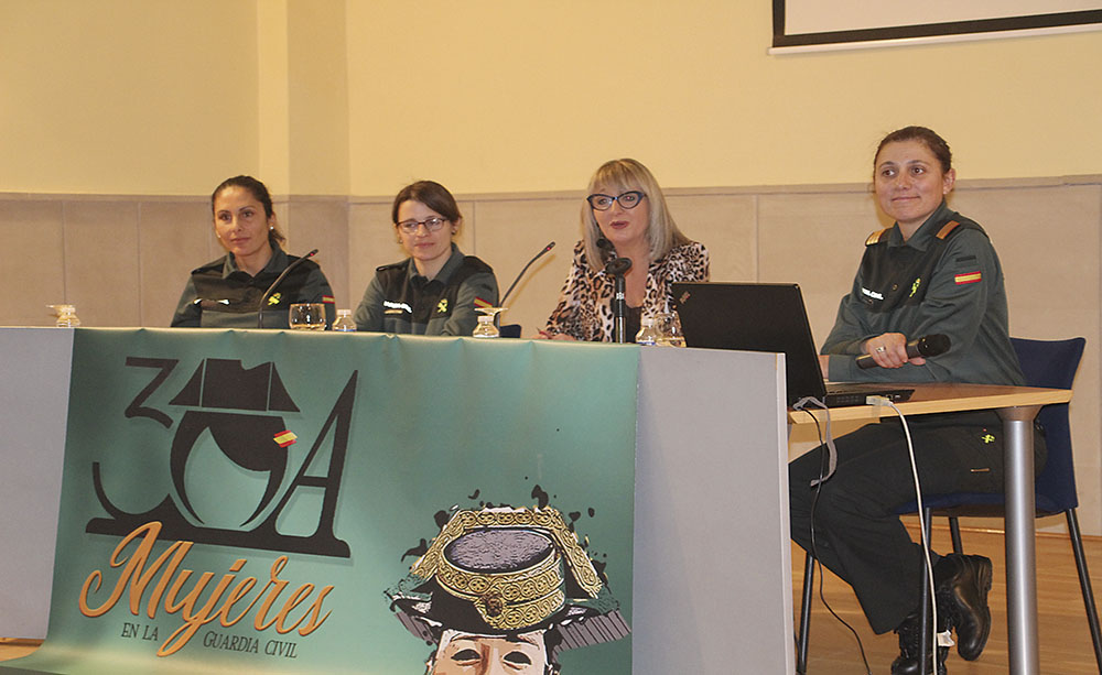 Las mujeres de la Guardia Civil