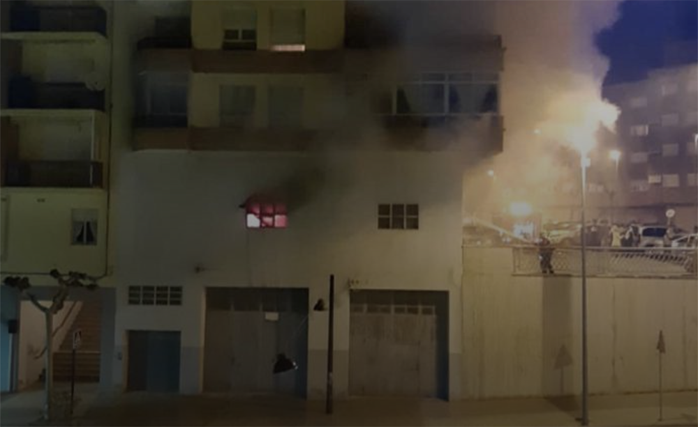 Controlado y sin heridos el incendio de Av. Valvanera