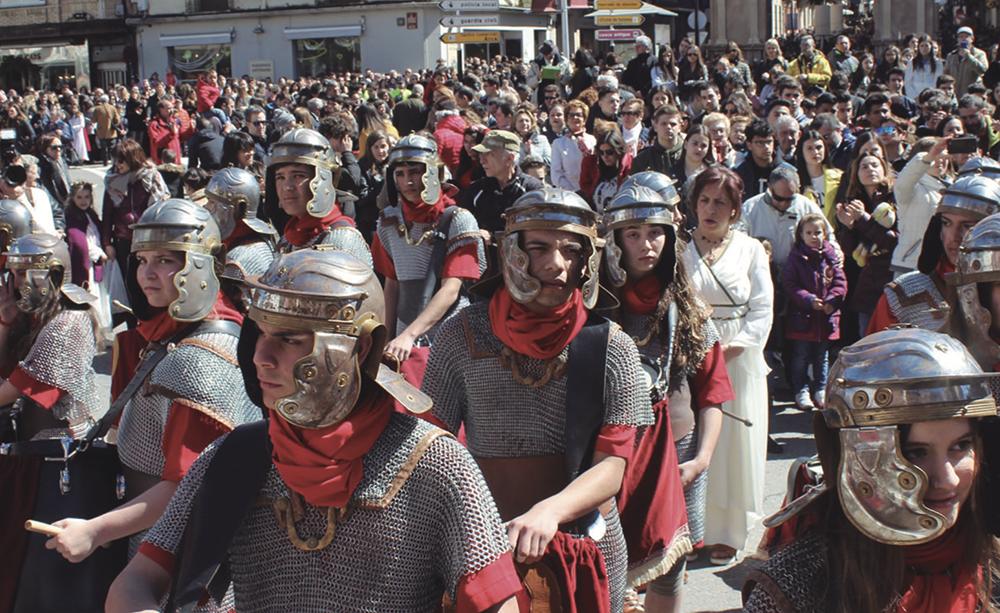 Casi 49.000 personas participan en actividades turísticas en Calahorra