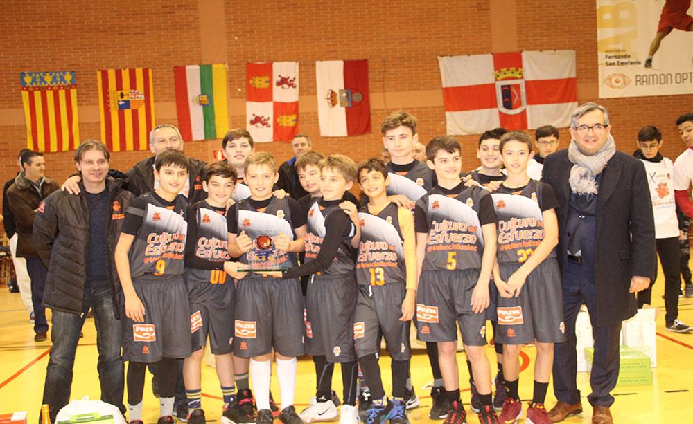 El Basket Valencia gana la X olimpiada  mini 'Miguel Jiménez'