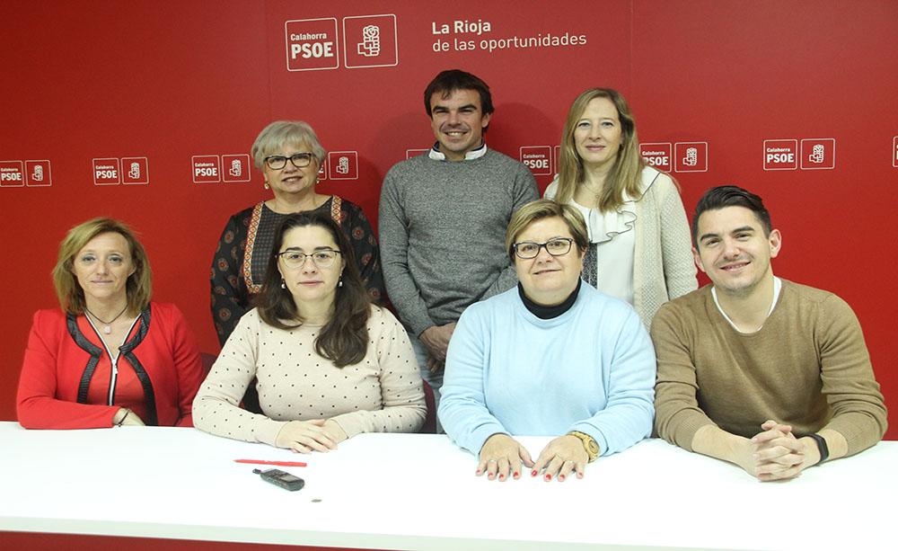El PSOE; no a los presupuestos de Calahorra