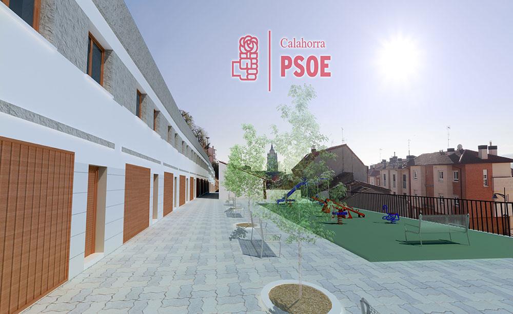 El PSOE propone viviendas en el Casco Antiguo