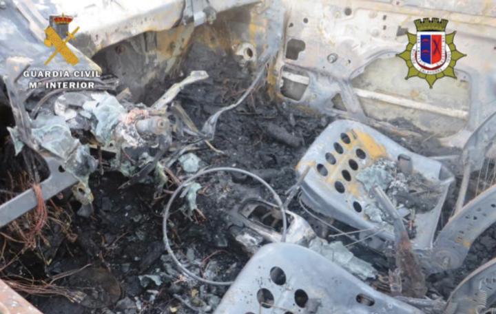 La Guardia Civil desmantela un grupo juvenil de robo de coches