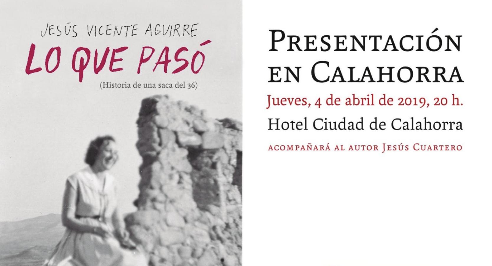 Jesús Vicente Aguirre presenta su nuevo libro