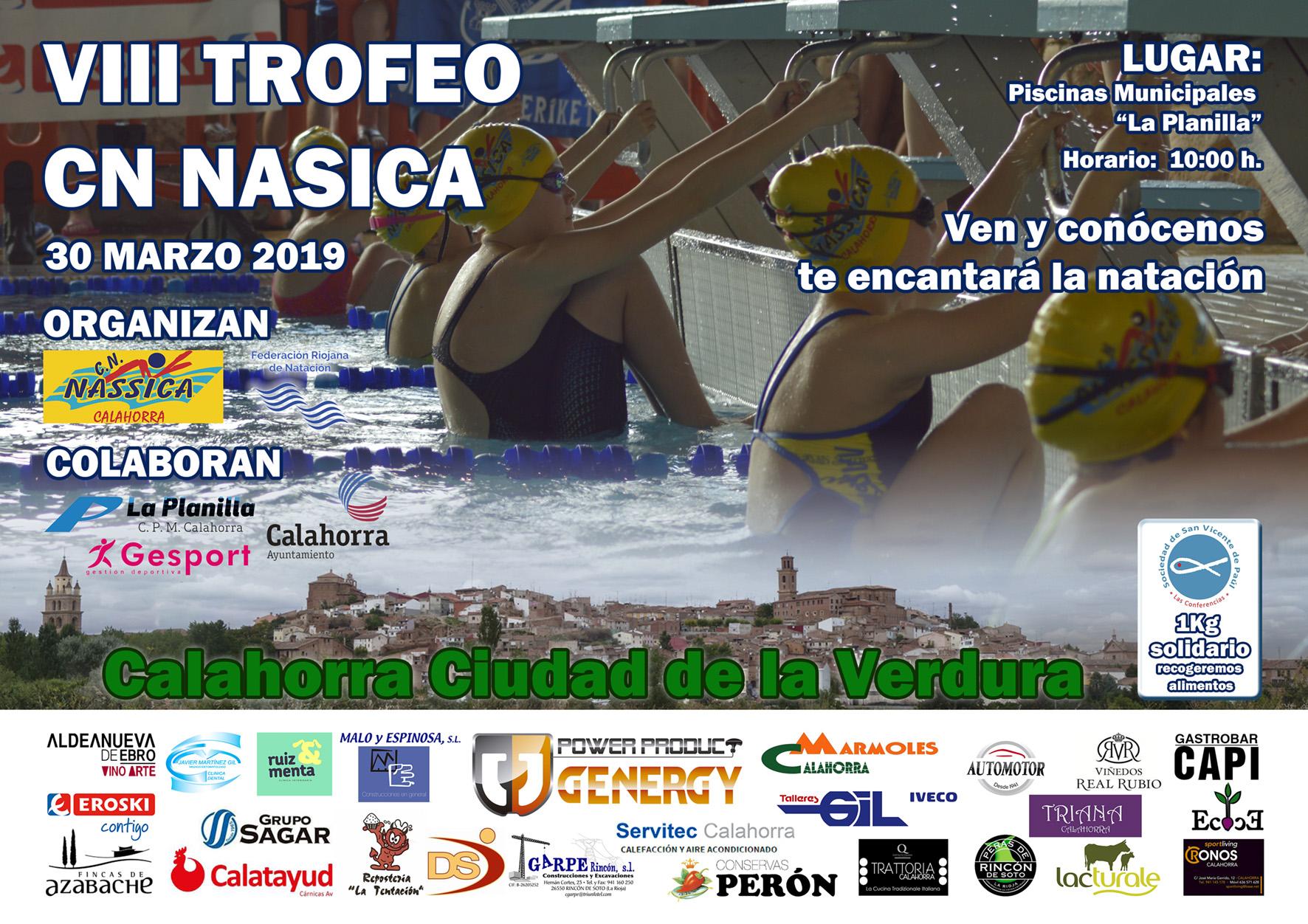El 30 de marzo trofeo CN Nasica