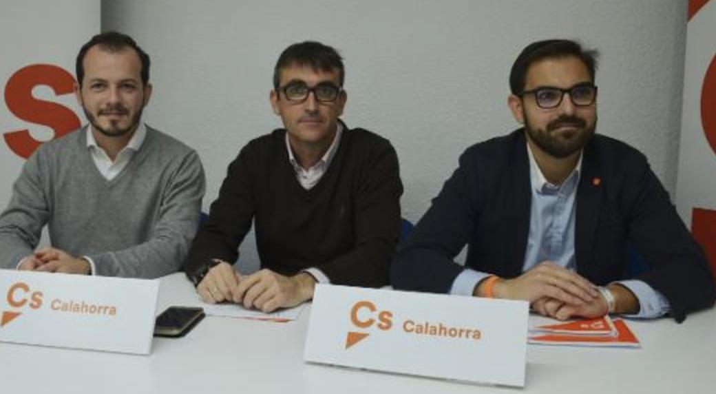 Rubén Jiménez se estrena como candidato en Cs