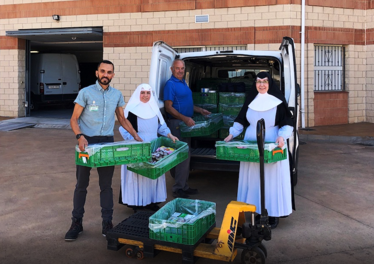 Mercadona colabora con la residencia de ancianos en Calahorra