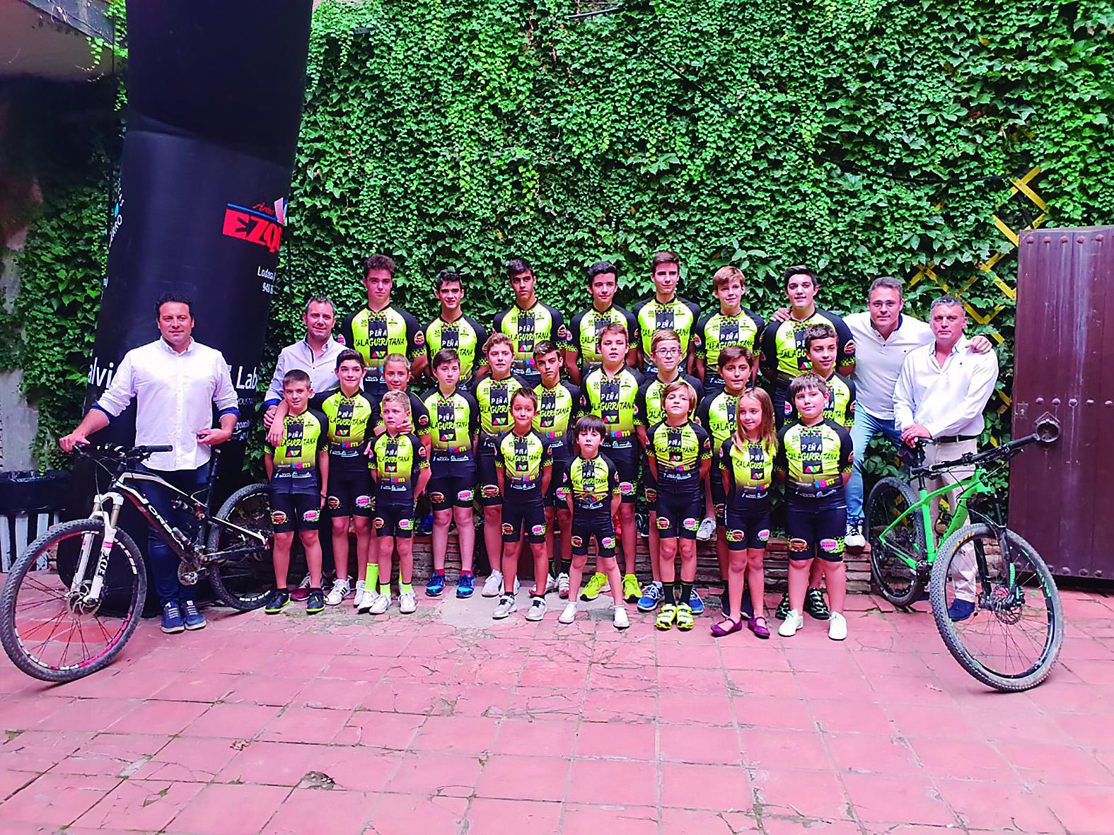 Nace la escuela de ciclismo de la peña Calagurritana