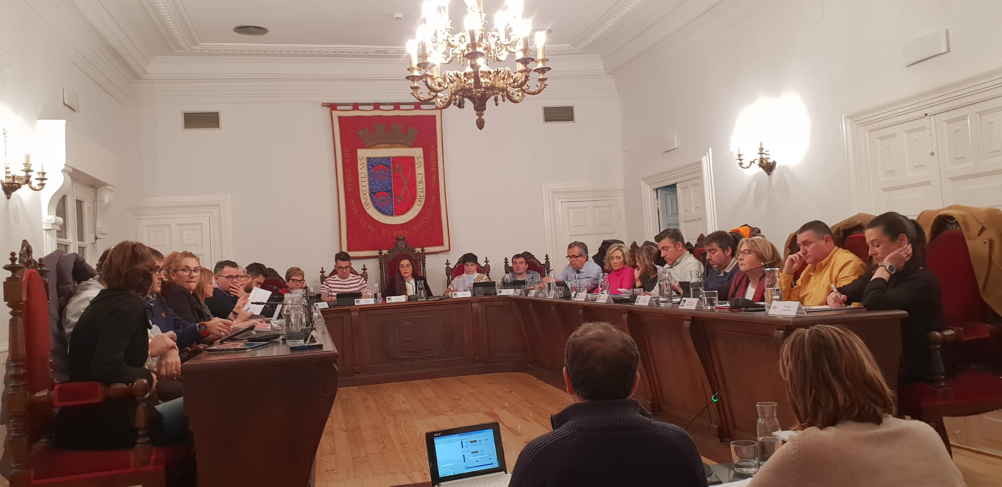 VOX quiere que PSOE, PP, C's e IU rindan cuentas