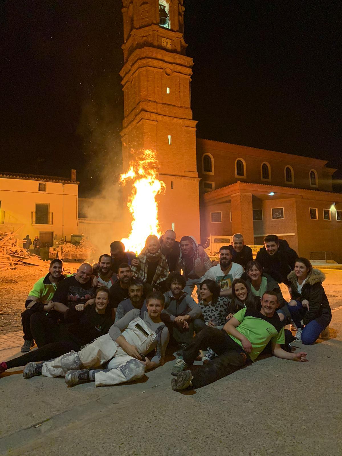 Sigue San Antón entre hogueras y bendiciones