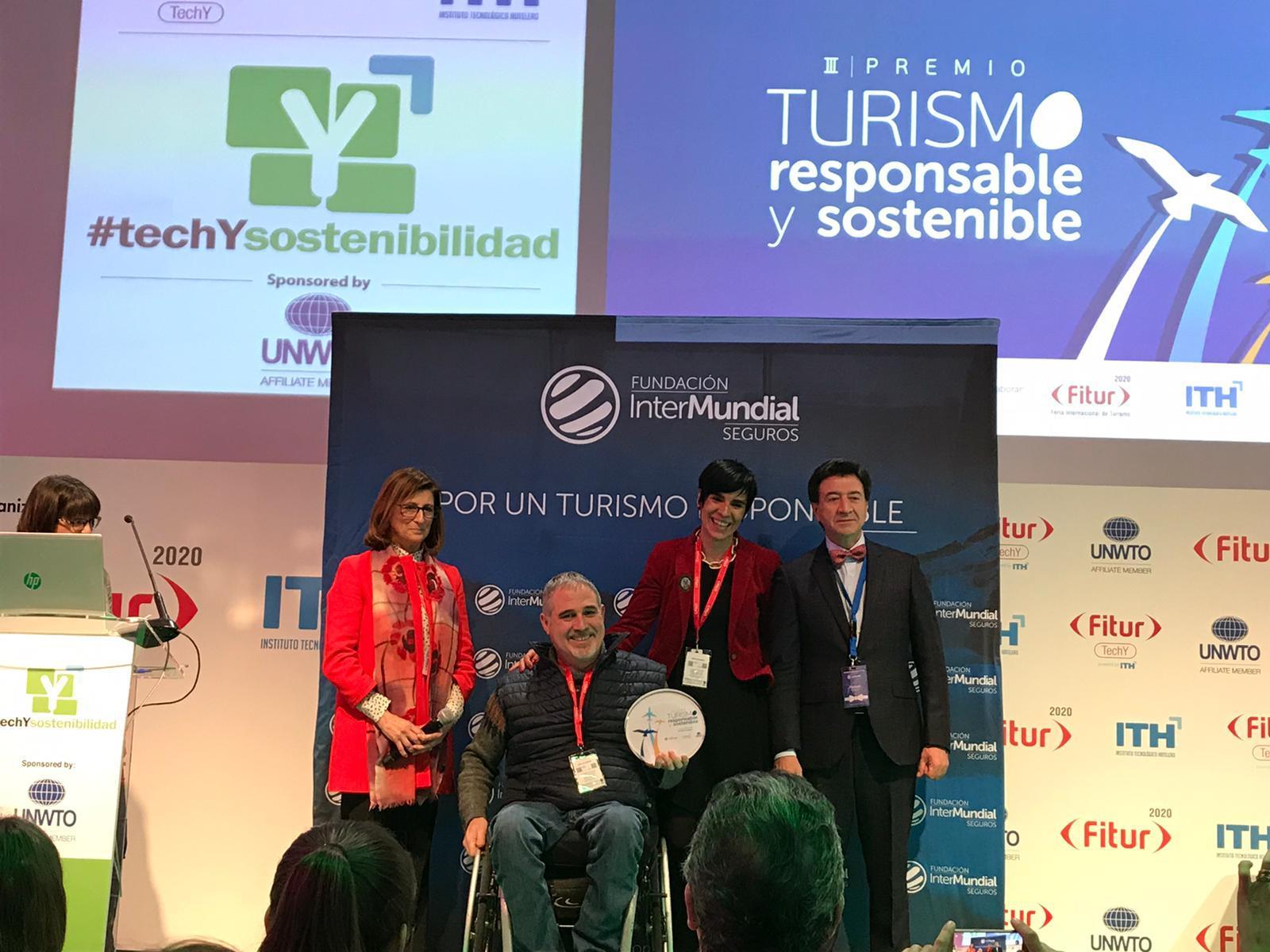 Silleros Viajeros se hace con el premio de Turismo Responsable y Sostenible en FITUR