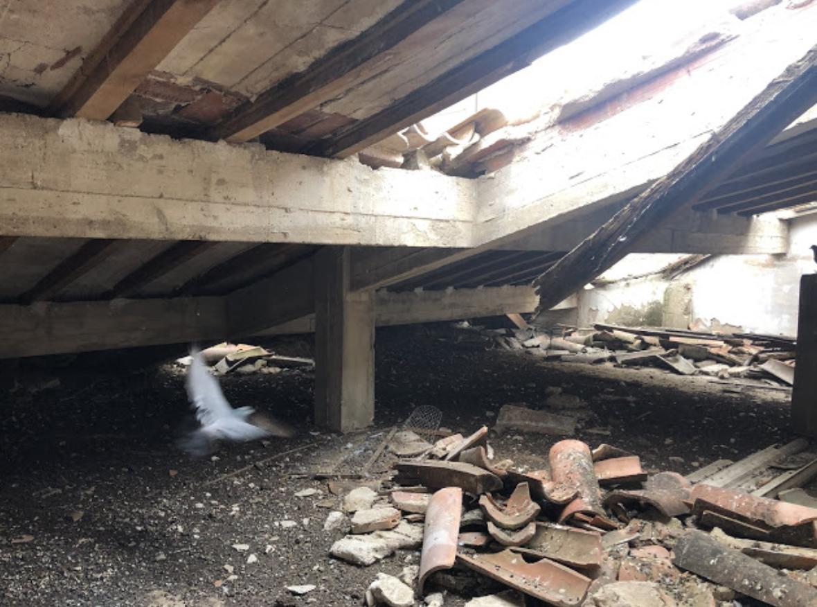 Deplorable estado del antiguo cuartel calagurritano