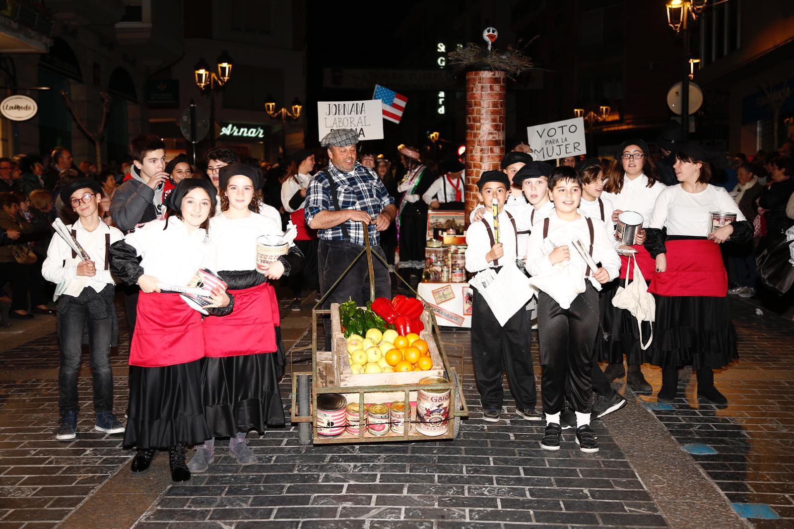 La historia protagonizó el desfile calagurritano