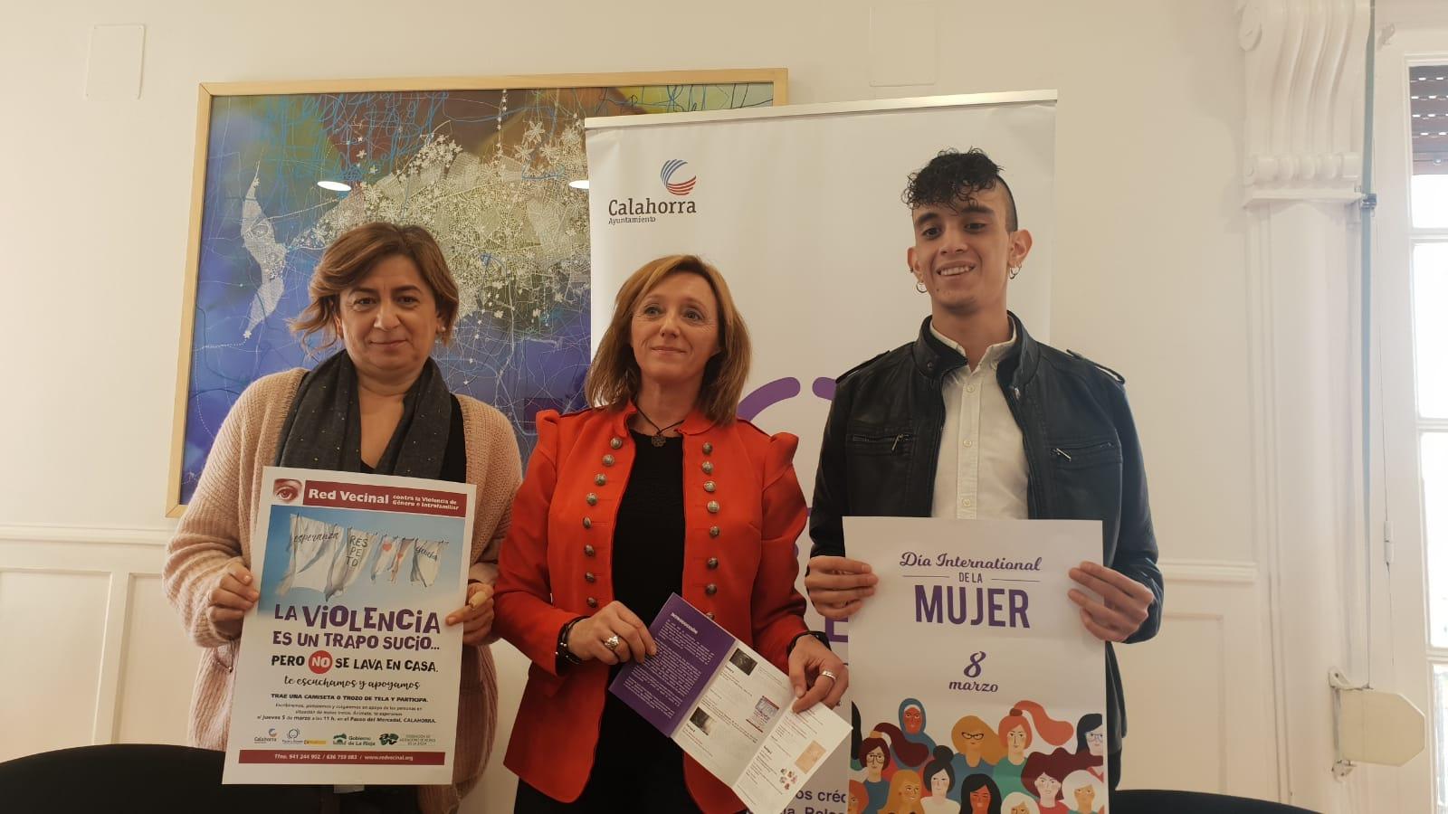 El 8M se celebra en Calahorra con cine, música y talleres infantiles