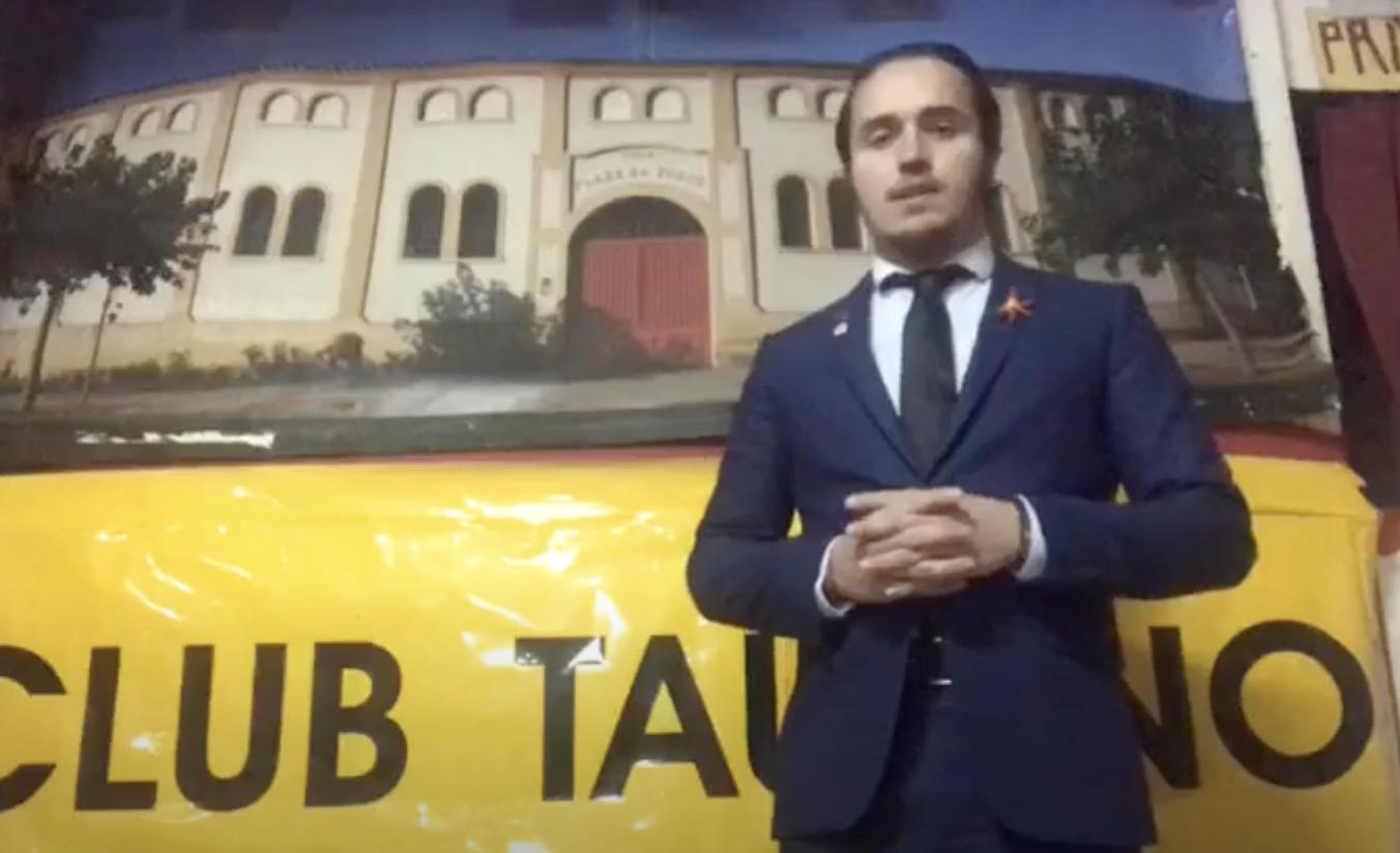 """""""La cultura no se censura"""", felicitación del presidente del Club Taurino por el Día de La Rioja"""