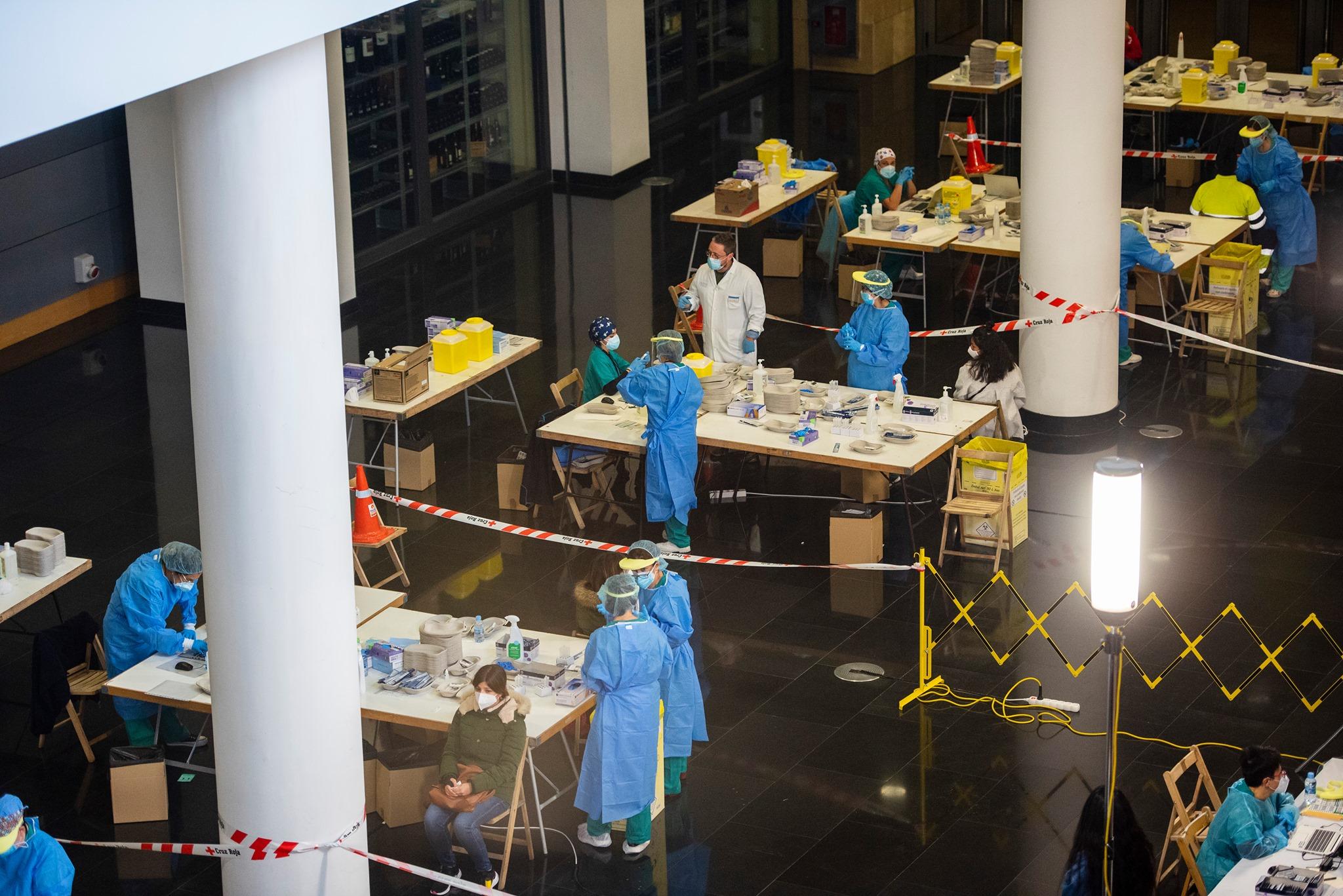 Casi 3.000 pruebas en Logroño en dos días