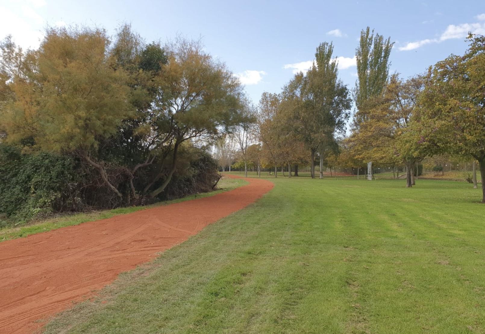 El consistorio de Calahorra arregla los caminos del parque del Cidacos