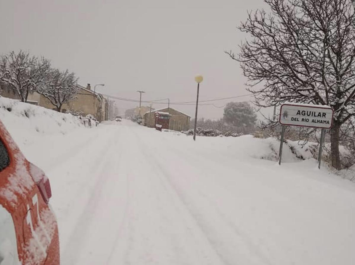 La comarca de Cervera la más afectada, de momento, por el temporal